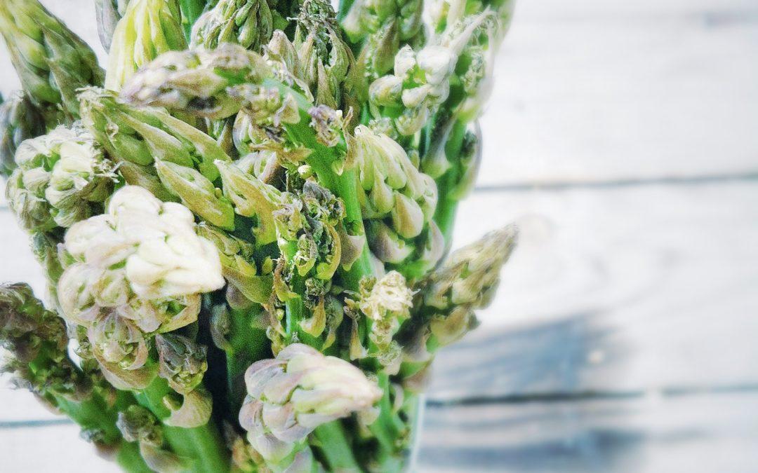 Un bouquet d'asperges