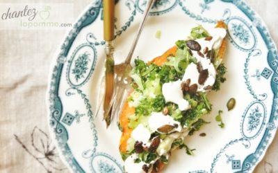 Se farcir la patate ~ Gastronomie végétale & une patate bien garnie