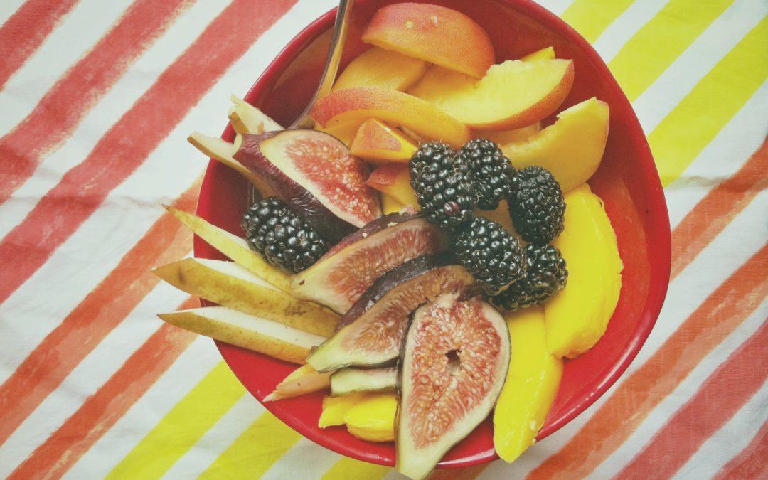 Un bol de fruits tout simple…