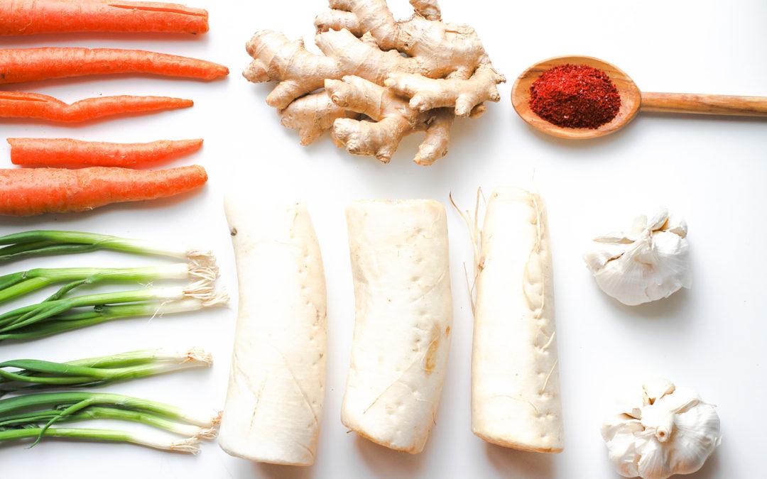 Pour l'amour du kimchee + Expo Manger Santé et Vivre Vert
