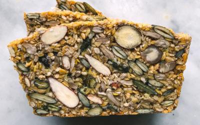 pain de noix et graines paléo sans gluten